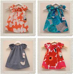 cute  simple dress pattern