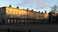 Trinity College Dublin, Ireland, Sidewalk, College, University, Walkways, Irish, Pavement, Community College