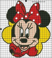 minnie cross stitch by syra1974