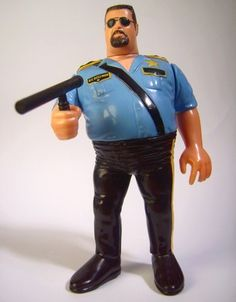 * Series 1 * => # Big Boss Man 1 # Big Boss Man, Wwf Hasbro, Watch Wrestling, Childhood Toys, Motorcycle Jacket, Play, Dolls, Baby Dolls, Puppet