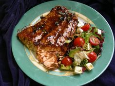 Greatest Grilled Salmon Recipe Ever! - use GF soy sauce for gluten free recipe