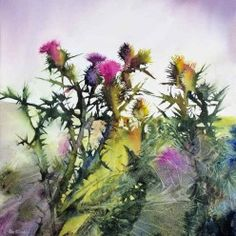 Thistles - Ann Blockley