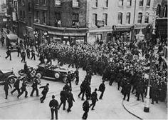 The Battle of Cable Street. No Pasaran. Im thinking of getting it blown up and framed.