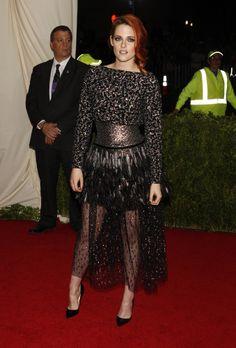 Le tapis rouge du Met Ball 2014 à New York Kristen Stewart