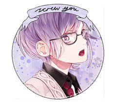 """Screw you // Kanato Sakamaki [Diabolik Lovers]"" by ender-chic52 ❤ liked on Polyvore featuring art"