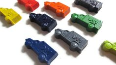 Ambulance Crayons set of 40  party favors by KagesKrayons on Etsy, $40.00