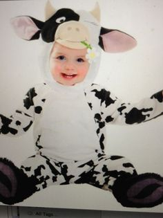 Cutie Cow Costume for infants and toddlers