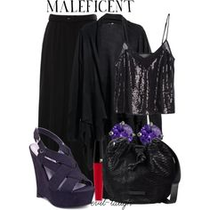 """""""Maleficent -- Disney's Maleficent"""" by evil-laugh on Polyvore"""