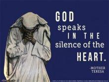 God Speaks Poster I - Catholic to the Max