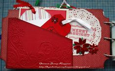 Because Scrap Happens  Christmas mini album #2 page 8