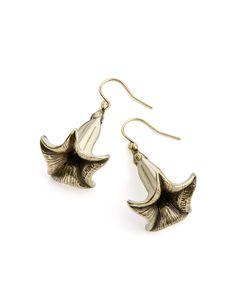 Angel Trumpet Earrings - JewelMint