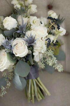 white wedding bouquet flowers bridal flowers - Page 99 of 100 - Wedding Flowers & Bouquet Ideas Blue Wedding Flowers, Bridal Flowers, Floral Wedding, Wedding Colors, Trendy Wedding, Wedding Ideas, Wedding Inspiration, Wedding Blue, Grey Flowers
