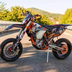 July 17 2018 at Ktm Supermoto, Ktm Dirt Bikes, Ktm Motorcycles, Motocross Love, Motocross Bikes, Ktm Exc, Motorcycle Dirt Bike, Moto Bike, Ktm Parts