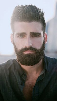 the real meaning of handsome www. View the best mens hairstyles from Charlemagne Premium male grooming and beard styling. Great Beards, Awesome Beards, Moustaches, Hairy Men, Bearded Men, Hair And Beard Styles, Hair Styles, Beard Look, Beautiful Men Faces