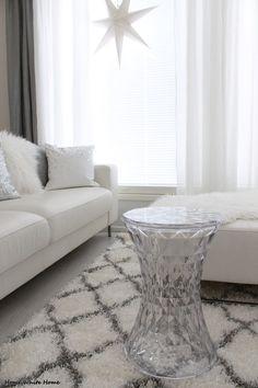 Kartell Stone - Home White Home. Loooove love love her house. ♥♥♥