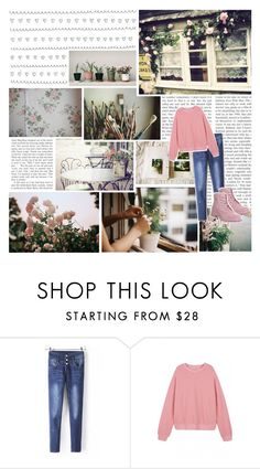 """""""Beautiful Halo #31"""" by nightlock ❤ liked on Polyvore featuring PATH, me you, WithChic, Timberland, fashionset, beautifulhalo and bhalo"""