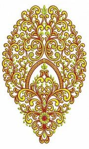Embroidery Design for Cotton Fabric