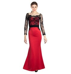 2499 Open Beauty Womens Cocktail Party Evening Mermaid Gown La