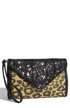 Leopard AND Sequins ! Oh My !