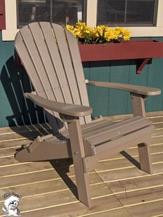 Found It At Wayfair   Phat Tommy Folding Recycled Poly Adirondack Chair