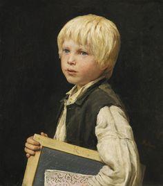 albert anker(1831-1910), school boy. oil on canvas, 51 x 45 cm. http://www.sothebys.com/ru/auctions/ecatalogue/2014/schweizer-kunst-swiss-art-zh1403/lot.14.html