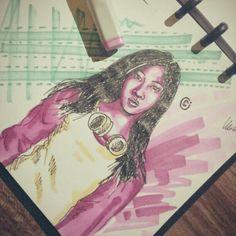 #quick #sketch #illustration #art