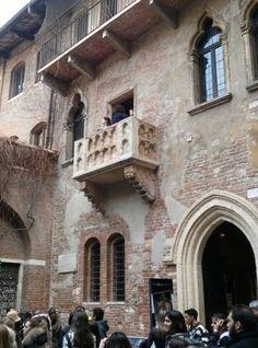 Balcone di Giulietta - Verona Italia