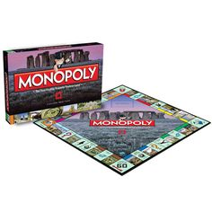 English Heritage Monopoly Game. Swap Old Kent Road for Stonehenge and Park Lane for Dover Castle in this special English Heritage edition of Monopoly.