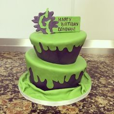Goosebumps birthday cake