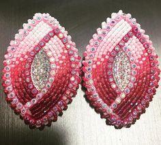 #beadedearrings #bead #beaded #beadedjewelry