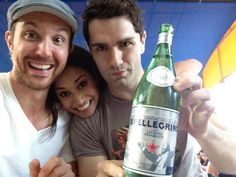 Sam Huntington, Meaghan Rath, Sam Witwer - Being Human SyFy :)