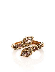 #Indian Jewellery Ras Kala Gold-MultiIK300