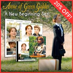 Get the prequel Anne of Green Gables series, A New Beginning with a CD and more! http://shopatsullivan.com/anne-a-new-beginning-set.html #aogg