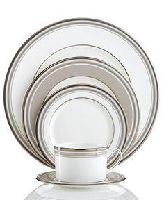 kate spade new york Dinnerware, Palmetto Bay 5 Piece Place Setting - Fine China - Dining & Entertaining - Macys  #macysdreamfund