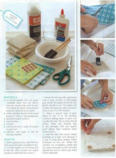 Creative Coaster Craft