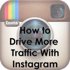 How to drive traffic from Instagram. Best tips. #bloggging #traffic