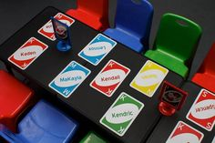 """Event of the Week: Adorable """"Uno"""" Themed First Birthday Party from Baby Boy 1st Birthday Party, First Birthday Party Themes, Birthday Themes For Boys, Homemade Snow Globes, Candy Table, First Birthdays, Theme Ideas, Party Ideas, Class Room"""
