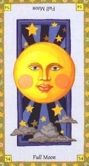 "11-8-12 Thursday's Tarot Card: FULL MOON (Astro Tarot) – Today brings an opportunity to tie up loose ends and finish up those little projects that have been left hanging for ""another time."" Now is the time to tend to those so you don't have to keep looking at them. Moon Astro, Sharon Brown, Astro Tarot, Full Moon Ritual, Daily Tarot, Card Drawing, Book Of Shadows, Big And Beautiful, Tarot Cards"