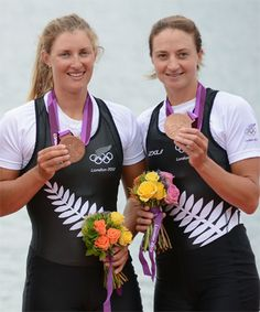 Rebecca Scown and Juliette Haigh (Rowing, New Zealand) - Our second medal for the games. They were under dogs who ditched the script to clinch the medal. Awesome!