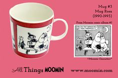 Moomin mug number 3 Produced: Illustrated by Tove Slotte and manufactured by Arabia. The original comic strip can be. Moomin Mugs, Number 3, Album, The Originals, Tableware, Comic, History, Friends, Collection