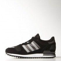 wholesale dealer 9077a 98eff Adidas Zx 700 Chaussures de Tennis Homme Noir Gris Argent - UIfku