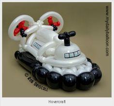 Rob Driscoll - Hovercraft