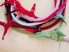 Textile branch chocker #173