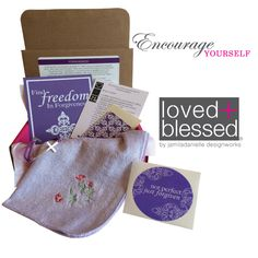 loved+blessed April 2015 Box of Encouragement #Forgiveness