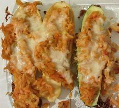 *Zucchini Cobbler that tastes just like Apple Cobbler - also other zucchini recipes and zucchini tips. #linguine #recipe