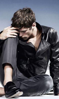 Sean O'Pry. Fresh fashion inspiration daily -> follow http://pinterest.com/pmartinza