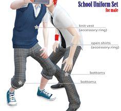S:imadako tumblr  [School uniform set for male