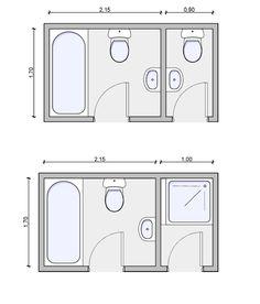 adjoining baths, bath layouts, bathroom layout