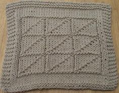 The Nice and Neutral Knit Dishcloth Pattern is a great addition to any kitchen. You can work this up in no time and the brown color goes well with a variety of decorative schemes. This free knitted dishcloth pattern also makes a great gift.