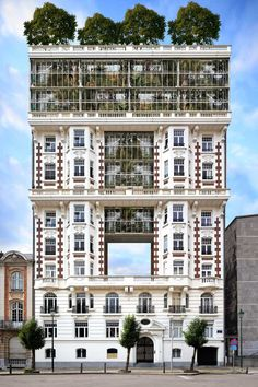 """The startlingly convincing (+ exquisite) """"Urban Greenhouse"""": istanbul design biennale: fictional buildings by xavier delory"""
